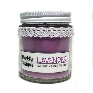 Lavender Aromatherapy Candle 4 oz.